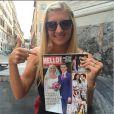 Rebecca Adlington, photo publiée sur son compte Instagram le 15 septembre 2014