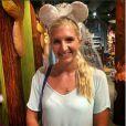 Rebecca Adlington, photo publiée sur son compte Instagram le 17 septembre 2014