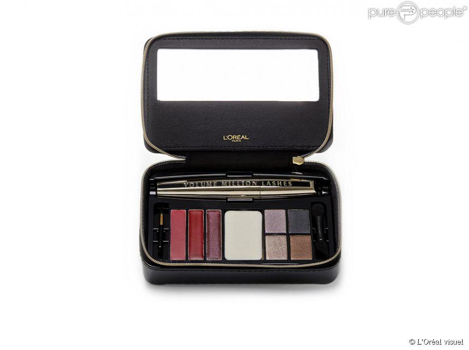 la palette maquillage tout en un couture madame 29 euros. Black Bedroom Furniture Sets. Home Design Ideas