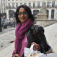 """Exclusif - Patricia Loison - 3ème présentation du Spot """"e-fluent mums"""", le salon des parents blogueurs, au Palais Brongniart à Paris, le 3 décembre 2014."""