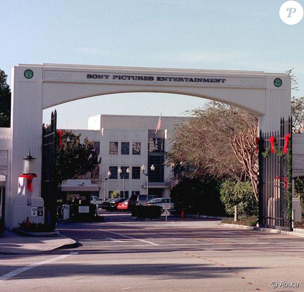 Les studios Sony Pictures Entertainment à Culver City en 2001