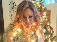 Maitland Ward (Amour, gloire et beauté), nue, se déguise en sapin de Noël sexy
