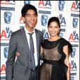 Dev Patel et Freida Pinto lors des BAFTA Britannia Awards le 5 novembre 2009