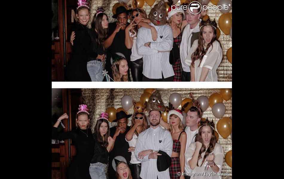 Taylor Swift entourée de Justin Timberlake, Jay-Z... fête son anniversaire le 12 décembre 2014