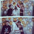 Nick Jonas et Olivia Culpo à la fête d'anniversaire de Taylor Swift, le 12 décembre 2014