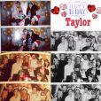 Taylor Swift entourée de Justin Timberlake, Kelly Osbourne... fête son anniversaire le 12 décembre 2014