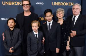 Brad Pitt avec Maddox, Pax et Shiloh : Angelina malade, sa famille solidaire !