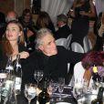 Shanyn Leigh et son mari Abel Ferrara, Lamia Khashoggi - 38ème édition de la cérémonie des Best au Salon Hoche à Paris le 15 décembre 2014. 'The Best Awards 2014'