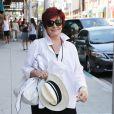 Sharon Osbourne à la sortie de chez le médecin à Beverly Hills, le 12 septembre 2014