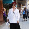 Sharon Osbourne à la sortie de chez le médecin à Beverly Hills, le 12 septembre 2014.