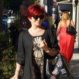 Exclusif - Sharon Osbourne fait du shopping à Los Angeles, le 11 juillet 2014.