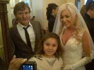 Julie (Secret Story 8) jolie en robe blanche : Enfin mariée à Sébastien !