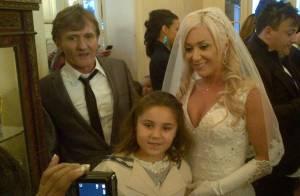 Julie (Secret Story 8) jolie en robe blanche  Enfin mariée à Sébastien !