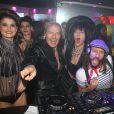 Tony Gomez, Bob Sinclar - Soirée chez Tony Gomez suivie d'un show de Bob Sinclar aux platines du Queen à Paris, le 19 décembre 2014.