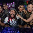 Exclusivité - Bob Sinclar au Queen, le 19 décembre 2014.