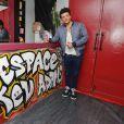 """Exclusif - Kev Adams inaugure le 1er Comédie Club qui porte son nom, """"L'espace Kev Adams"""" sur le Quai du Rire à Marseille le 30 mai 2014."""