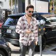 Scott Disick à Beverly Hills, Los Angeles, le 23 décembre 2014.