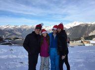 Catherine Zeta-Jones et Michael Douglas, amoureux et unis en famille pour Noël