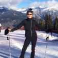 Catherine Zeta-Jones pose au ski. (Photo posté le 26 décembre 2014)