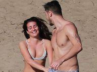 Lea Michele, sexy à souhait : Bronzette et farniente avec son chéri...