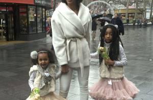 Mel B, heureuse malgré les rumeurs, entourée de ses filles et son mari