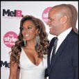 """Mel B et son mari au lancement de leur série TV """"Mel B : it is a scary world"""" le 28 octobre 2010."""