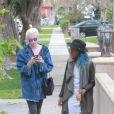 Exclusif - Ireland Baldwin et sa chérie Angel Haze vont déjeuner avec une amie à Studio City le 30 décembre 2014