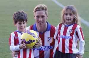 Fernando Torres à l'Atletico : Sa belle et leurs enfants fiers pour son retour