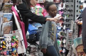 Angelina Jolie : Shopping avec ses filles avant de rencontrer le pape François