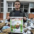 Charb, directeur de la rédaction Charlie Hebdo à Paris, le 2 novembre 2011.