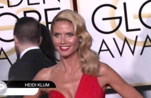 Heidi Klum vs Cindy Crawford : Duel sexy aux Golden Globes