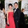 Julianna Margulies et son mari Keith Lieberthal - La 72e cérémonie annuelle des Golden Globe Awards à Beverly Hills, le 11 janvier 2015