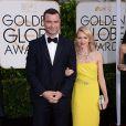 Naomi Watts et Liev Schreiber - La 72e cérémonie annuelle des Golden Globe Awards à Beverly Hills, le 11 janvier 2015