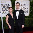 Samantha Bryant et Colin Hanks - La 72e cérémonie annuelle des Golden Globe Awards à Beverly Hills, le 11 janvier 2015