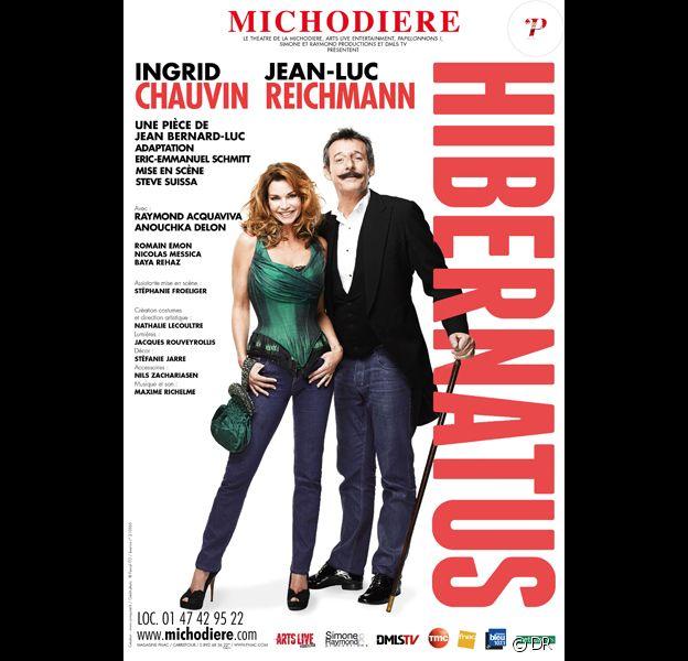 Hibernatus, au Théâtre de la Michodière, du 10 janvier au 29 mars 2015.