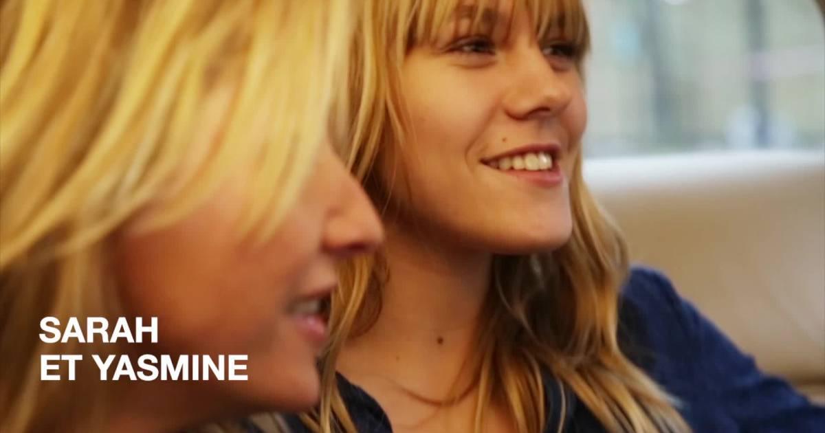 Sarah lavoine et sa fille yasmine duo complice pour une campagne mode - Comptoir des cotonniers mere fille ...