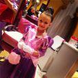 Maddie, la petite fille de Jamie Lynn Spears, déguisée en princesse Disney, à Disney World en Floride, le vendredi 14 août 2014.