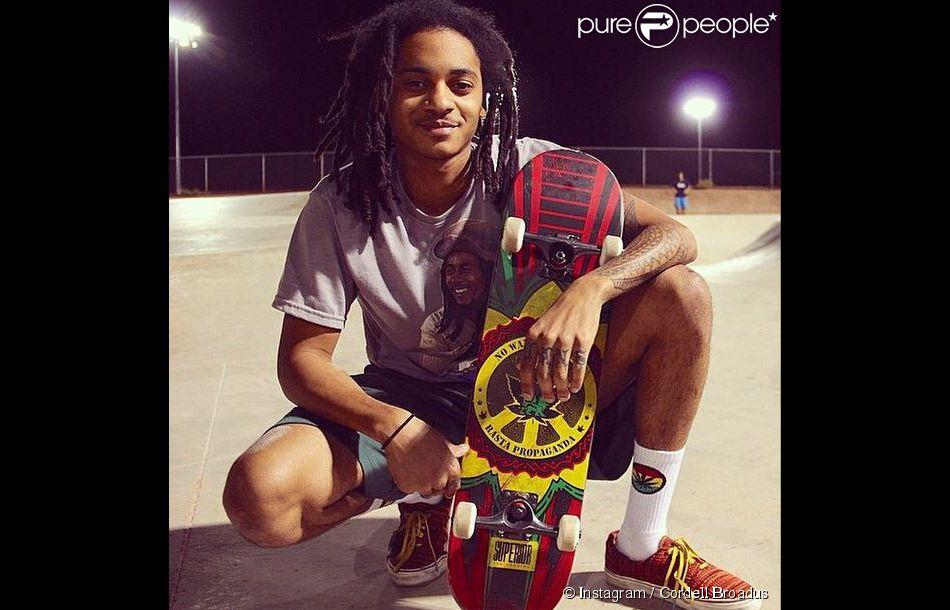 Cordé Calvin Broadus, 20 ans et fils aîné de Snoop Dogg et ... Corde Calvin Broadus