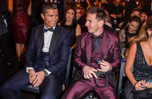 Cristiano Ronaldo, Ballon d'or : Quand son fils rencontre Messi... dont il est fan