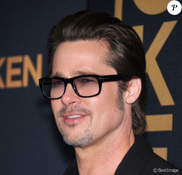 """Brad Pitt à la première du film """"Unbroken"""" à Hollywood, le 15 décembre 2014"""
