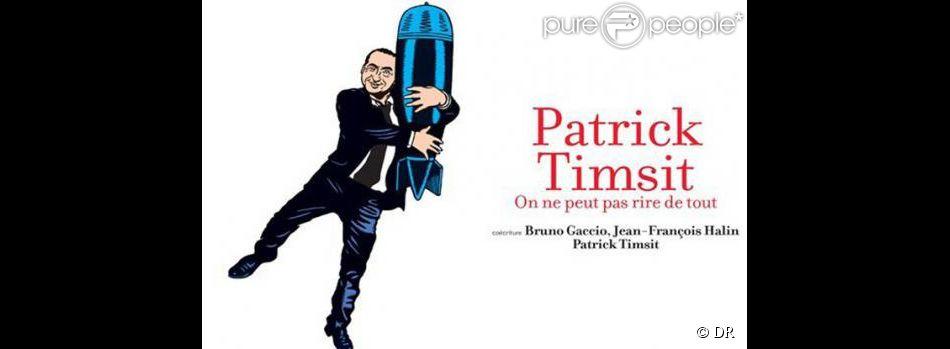 Avant la censure de JCDecaux : L'affiche du spectacle de Patrick Timsit au théâtre du Rond-Point à Paris