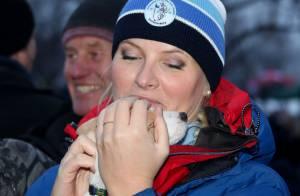 Mette-Marit et Haakon de Norvège: Début d'année plein de loisirs et de tendresse