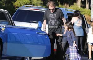 Johnny Hallyday : Un père attentif et dévoué avec sa fille Joy