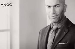 Zinédine Zidane : Sourire et regard charmeur, l'égérie Mango séduit