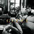 Charlotte Casiraghi dans la campagne automne-hiver 2012-13 de la maison Gucci, immortalisée par Inez van Lamsweerde et Vinoodh Matadin.