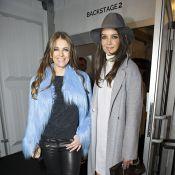 Katie Holmes : Radieuse à la Fashion Week de Berlin avec Elizabeth Hurley