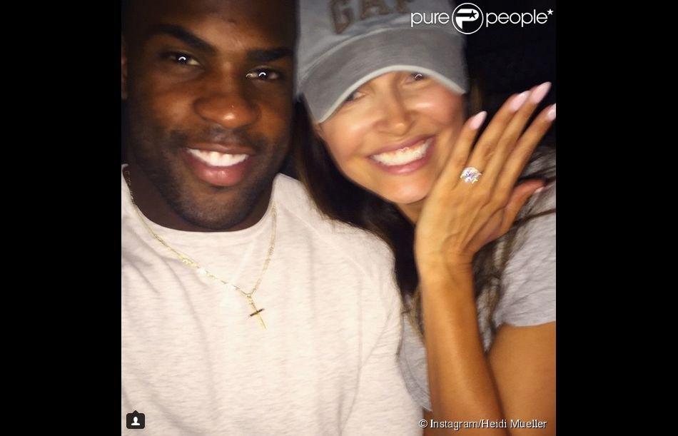 DeMarco Murray et Heidi Mueller - photo publiée sur le compte Instagram de la jeune femme le 20 janvier 2014