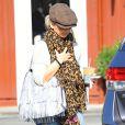 Exclusif - Sarah Michelle Gellar, dans la rue à Santa Monica, le 21 janvier 2015.
