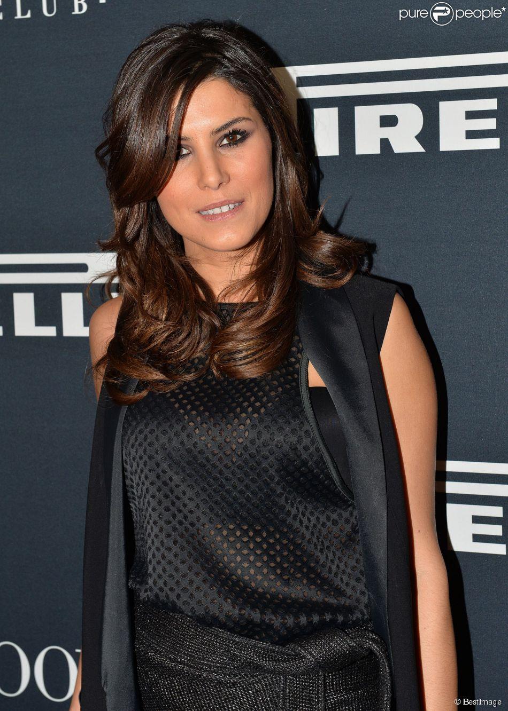 Karine Ferri - Soirée de présentation du calendrier Pirelli 2015 au VIP Room à Paris, le 22 janvier 2015.