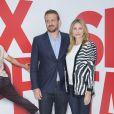 """Jason Segel et Cameron Diaz Photo-Call du Film """"Sex Tape"""" au Bristol à Paris le 4 septembre 2014"""